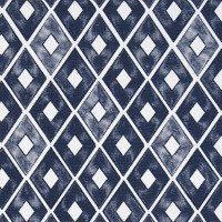 Double Quilted Mat Trillion Indigo