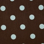 Brown with Blue Dots Summer Winter All Season Mat Starting at $18