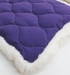 Purple Solid Summer Winter All Season Mat Starting at $18