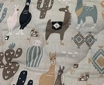 Double Quilted Mat LLama