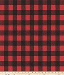 Buffalo Plaid Red and Black Summer Winter All Season Mat Starting at $18