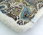 Blue Paisley Summer Winter Mat Starting at $18