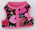 Valentine Hearts Walking Harness